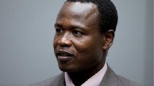 Former Ugandan rebel commander Dominic Ongwen