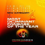 According to the organizers, Best European artiste was added to expand the scope of the award