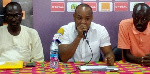 President of the Ghana Kickboxing Association, Raja Owusu-Ansah