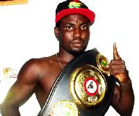 Ghana's Rafael Mensah