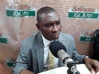 Tarkwa-Nsuaem MP, George Duker