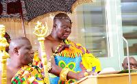 Otumfuo Osei Tutu II is King of the Ashanti Kingdom