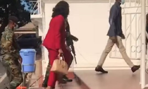 Jean Mensa shows up in court on first day of election petition hearing