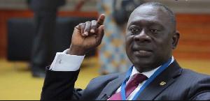 Deputy Minister of Local Government, Mr. Osei Bonsu Amoah