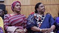 Rebecca Akuffo Addo and Samira Bawumia