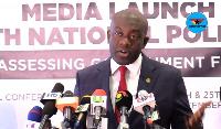 Information minister-designate Kojo Oppong Nkrumah
