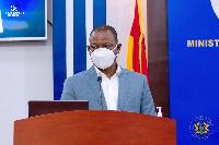 Director-General of the GHS, Dr. Patrick Kuma Aboagye
