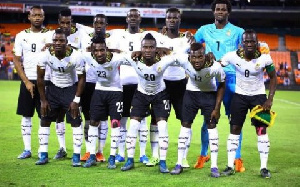Ghana national team the Black Stars