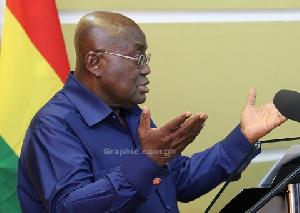 President Nana Addo Dankwa Akufo Addo Shot