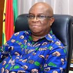 Volta Regional Minister, Dr Archibald Yao Letsa