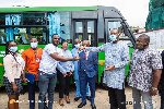 NUGS president showers praises on Akufo-Addo, NAPO after bus donation