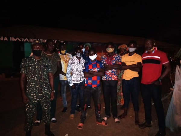Ten Burkinabes busted for entering Ghana illegally