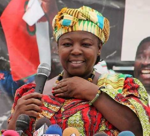 Chairperson and leader of the Convention People's Party,  Nana Akosua Frimpomaa-Sarpong