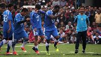 Michael Essien played 69 minutes for Persib Bandung