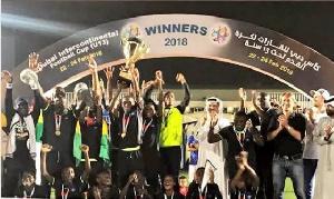 Ghana's Lizzy Sports Academy U13 side emerged winners of the 2018 Dubai International Cup