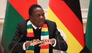 President Mnangagwa.
