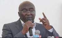 Mahama administration started putting up a house for Vice Pres. Dr. Bawumia