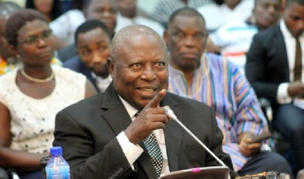 One 'Nana B' is directing insults at me - Martin Amidu