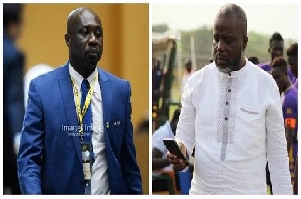 George Afriyie and Wilfred Osei Kwaku