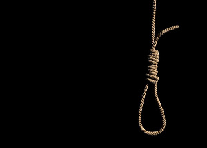 File photo of suicide noose