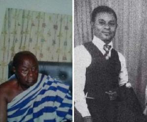 The late Simms Mensah