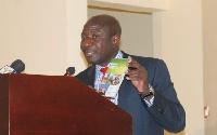 Professor Felix Asante - Director of ISSER and coordinator of the report