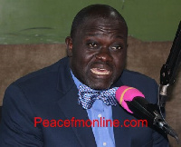 Nana Ofori Owusu, aspiring National Chairman of the Progressive People's Party (PPP)