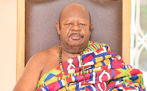 Konor of the Manya Krobo Traditional, His Royal Majesty, Nene Sakite II
