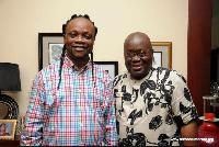 Daddy Lumba meets Nana Addo