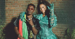 Dancehall artiste, Shatta Wale in with Beyonce