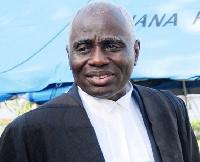 Tsatsu Tsikata is lead counsel for John Mahama in the petition