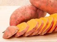 Orange flesh sweet potatoes are rich in nutrients