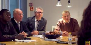 A delegation from Ghana visit Sweden for business partnerships