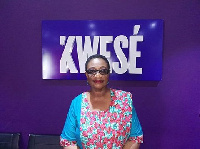 Madam Gloria Commodore, the Executive Director of Women in Sports Association of Ghana (WISA)