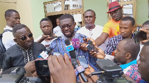 Nana Yaw is the youngest aspirant among a litany of aspirants