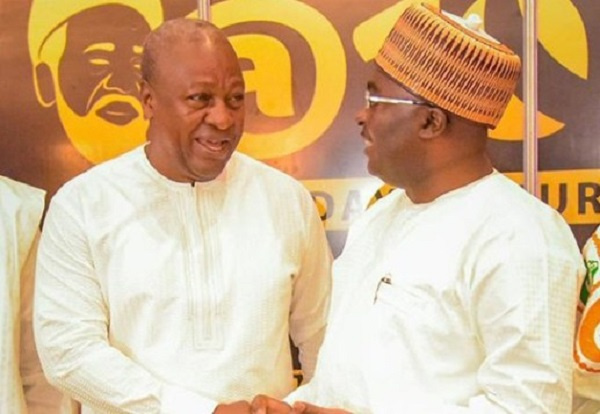 Why Bawumia challenged Mahama on legacy projects