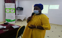 One of the stake holders addressing participants the workshop for operators of SMFEs