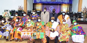 Chiefs appointed by the Church of Pentecost to lead the chieftaincy ministry