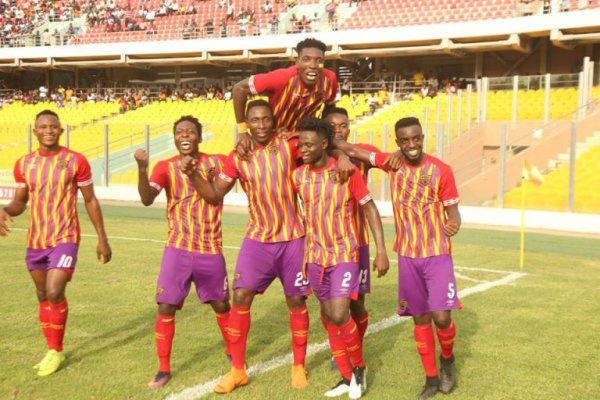CAF Champions league: Hearts ease past CI Kamsar to book a spot in second round