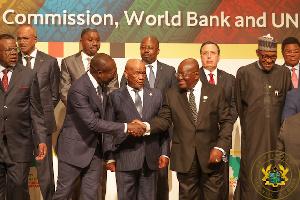 President Akufo-Addo with President Tallon of Benin