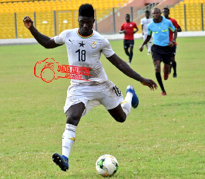 Obeng scored two goals for Ghana at the AFCON