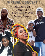 HONE7 to host 'Coming to Africa'  virtual music concert in Ghana
