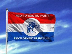 Flag of the New Patriotic Party