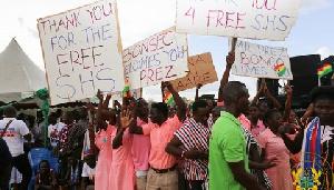 Free Shs Students Praise