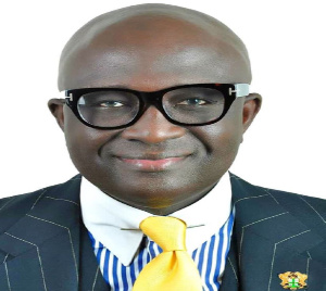 Ghanaian broadcaster, Kwasi Kyei Darkwah