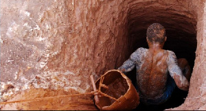 Some persons were trapped in a mining cave at Prestea Nsuta in the Western Region