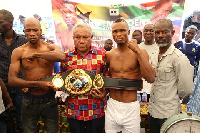 George Ashie is making a return to the ring to face South Africa Michael Mokeona