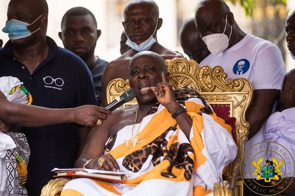 Produce woman who cursed Akufo-Addo, others within 1 week – Okyenhene to fetish priest