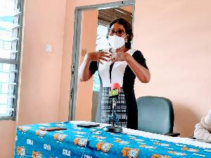 Chief Editor at GNA, Mrs Dzifa Azumah