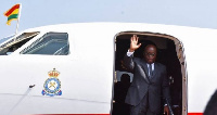 President Akufo-Addo left Ghana to attend the 5th Edition of the Financial Times Africa Summit